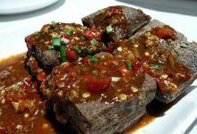 西塘美食图片-臭豆腐