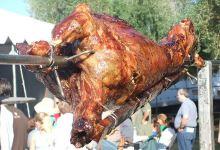 雅典美食图片-烤羊肉