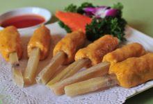 胡志明市美食图片-甘蔗虾
