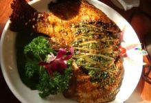 西双版纳美食图片-香茅草烤鱼