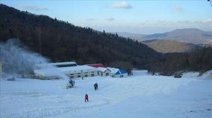 亚布力新体委滑雪场11