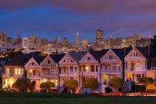 阿拉莫广场-旧金山-兔爺