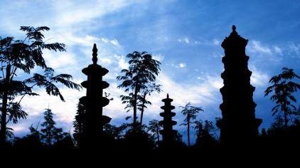 芒砀山-夫子庙塔林
