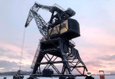 The Old Harbour Crane-吕勒奥