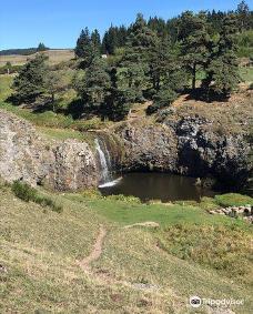 Cascade des Veyrines-阿朗什